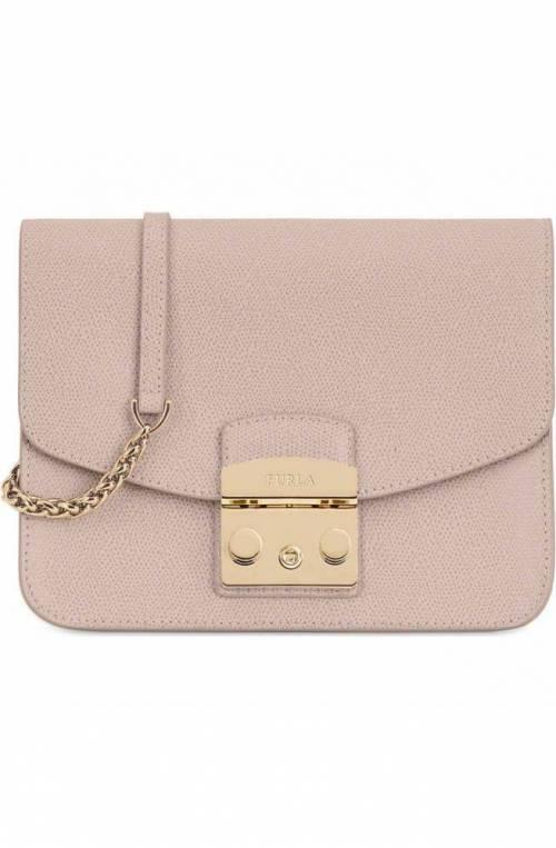 FURLA Bag Metropolis Female Leather Beige - 993733