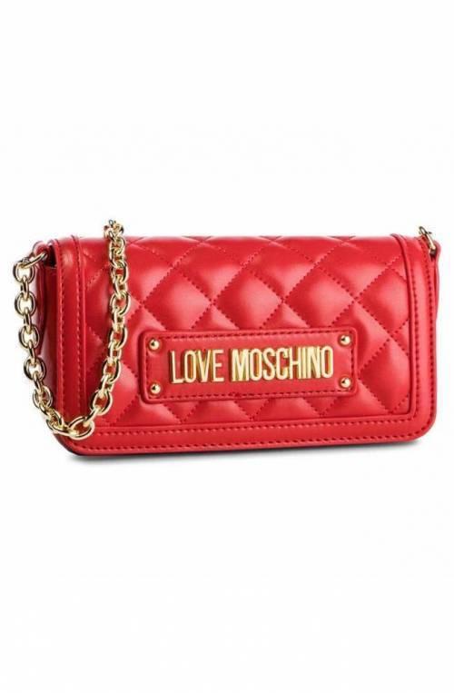 LOVE MOSCHINO Bolsa Mujer Rojo - JC4201PP07KA0500