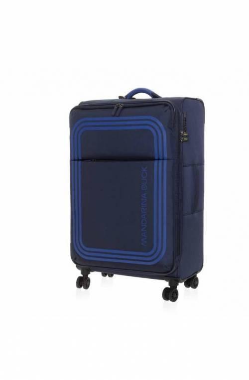 Mandarina Duck Trolley Bilbao cabin Blue TSA lock - P10VAV0208Q