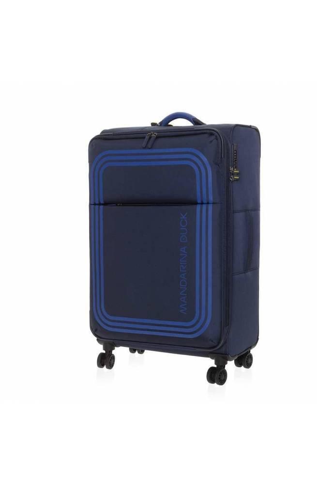 Trolley Mandarina Duck Bilbao cabin Blu TSA lock - P10VAV0208Q