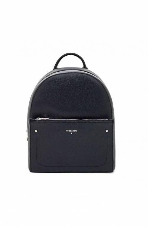 PATRIZIA PEPE Backpack Female Leather Black - 2V8527-A4U8-K103