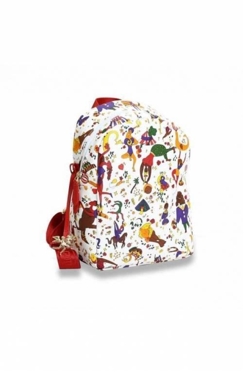 PIERO GUIDI Backpack MAGIC CIRCUS Female White-Red - 215174038-98