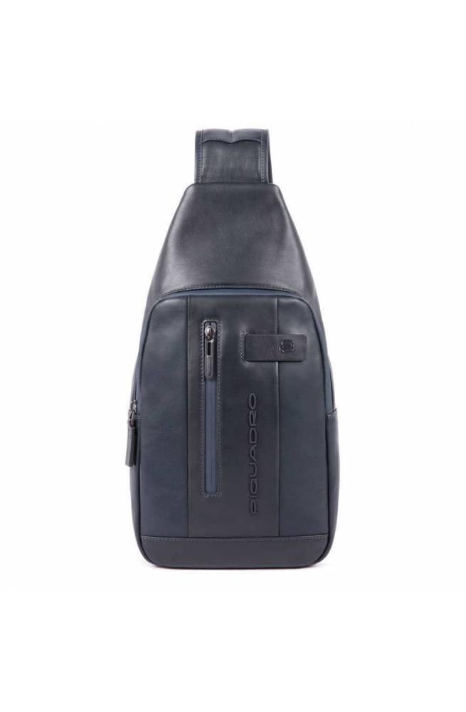 PIQUADRO Bag Urban Male Mono sling Blue - CA4536UB00-BLU
