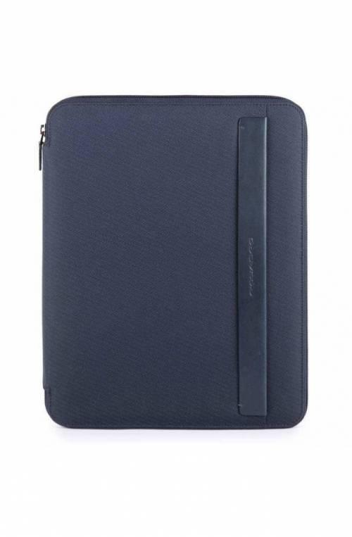 Portablocco Piquadro formato A4 porta penne Stationery PB2830S100-BLU