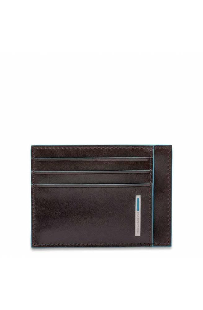 PIQUADRO Cardholder b2 Mahogany Leather - PP2762B2R-MO