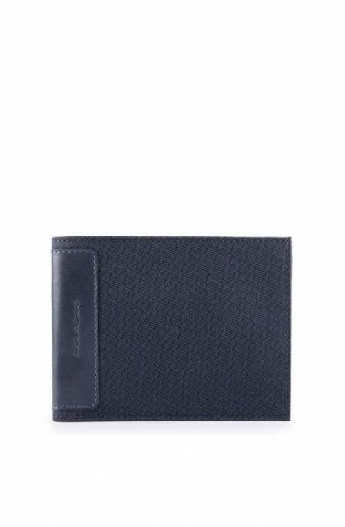 PIQUADRO Wallet Klout Male Blue - PU257S100-BLU