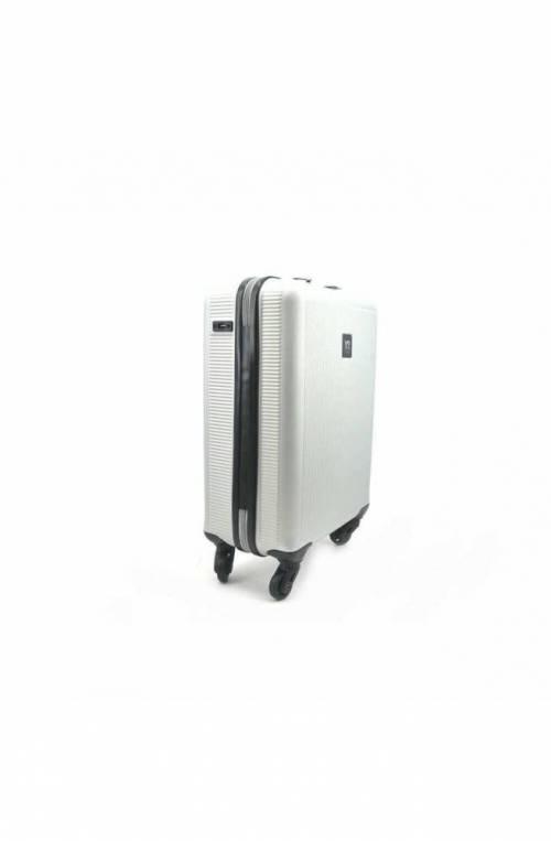 Trolley YNOT Argento Bagaglio a mano TSA lock + USB PLUG Unisex - L11001PE19-SILVER