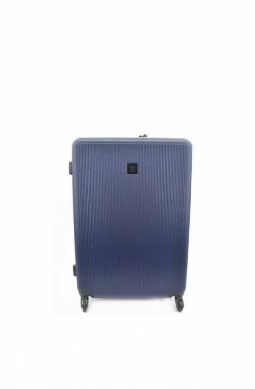 Trolley YNOT Blu navy Trolley TSA lock + USB PLUG Unisex - L11002PE19-BLUE