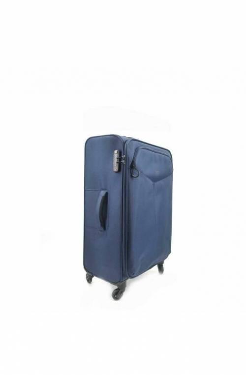 Trolley YNOT Blu navy Trolley TSA lock Unisex - L9002PE19-BLUE