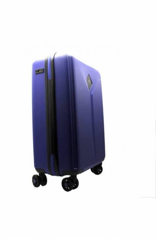 Trolley YNOT Blu royal Bagaglio a mano TSA lock + USB PLUG Unisex - L8001PE19-ROYAL