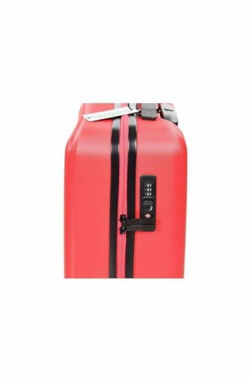 Trolley YNOT Rosso Bagaglio a mano TSA lock + USB PLUG Unisex - L8001PE19-RED