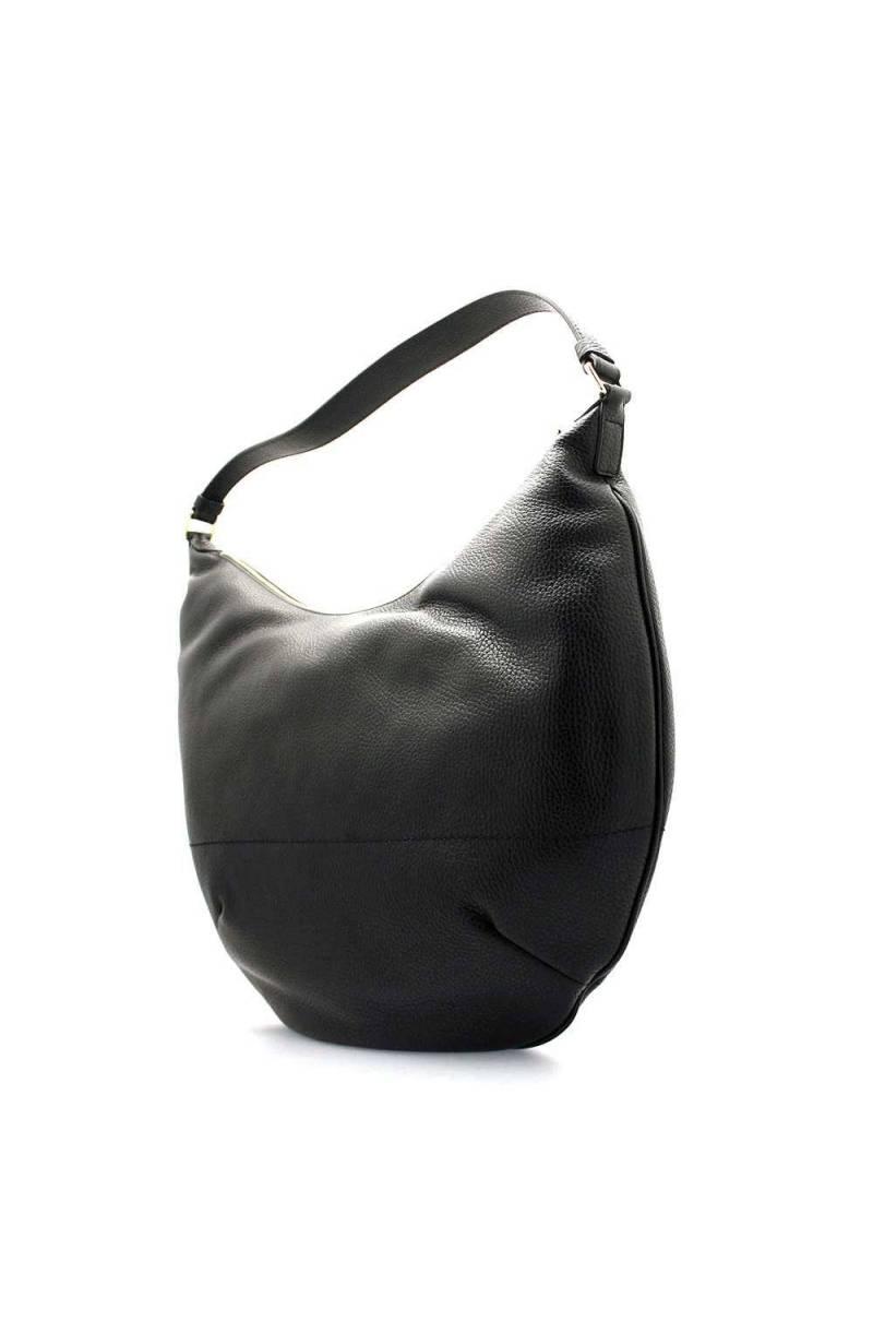 BORBONESE Bag Female Leather Black 913360 419 100