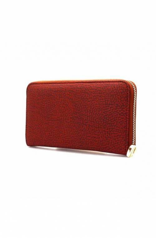 BORBONESE Wallet Female Burgundy - 930134-296-T09