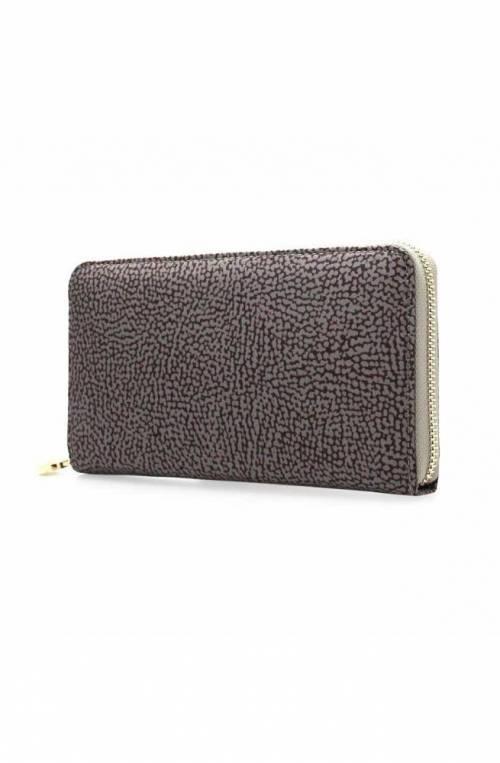 BORBONESE Wallet Female Grey - 930134-296-Q80