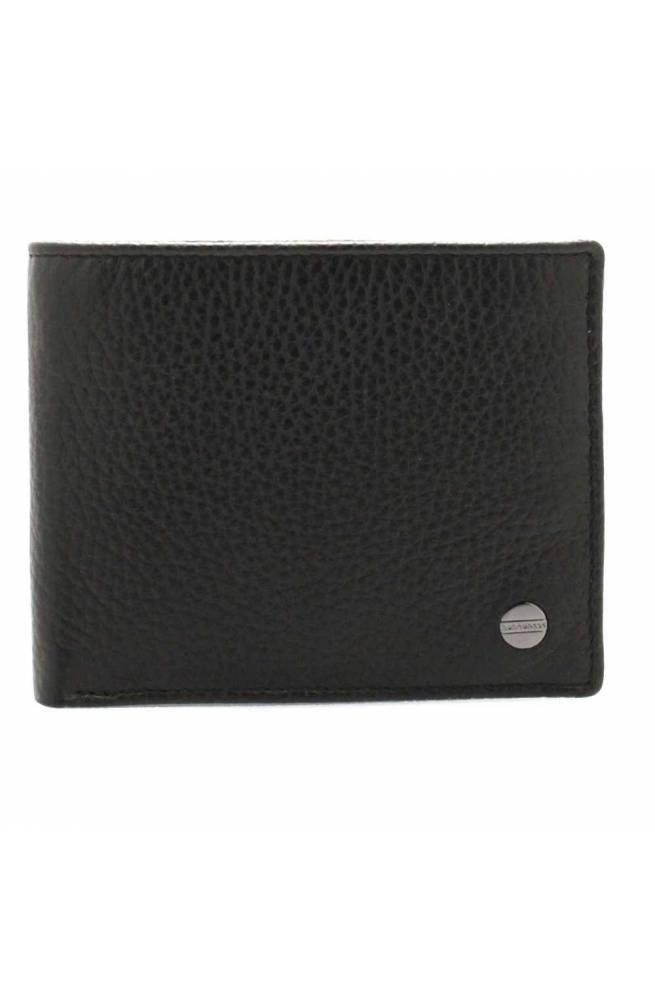 BORBONESE Wallet Male Leather Black - 940343-419-100
