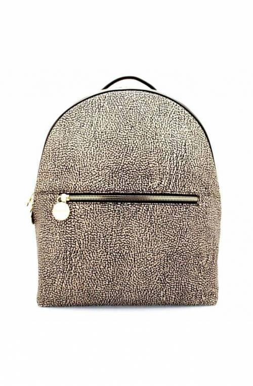 BORBONESE Backpack Female Op.Classic Brown - 934459-296-C45
