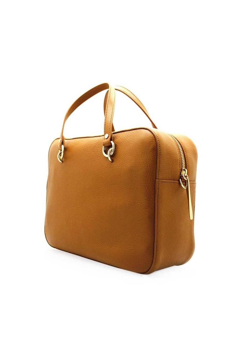 54e7e6091b7 ... COCCINELLE Bag ALPHA Female Leather Caramel - E1ES5180101W03 ...