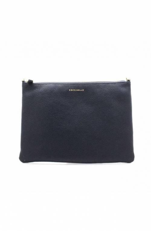 Borsa COCCINELLE MINI BAG Donna Pelle Blu - E5EV355F407B12