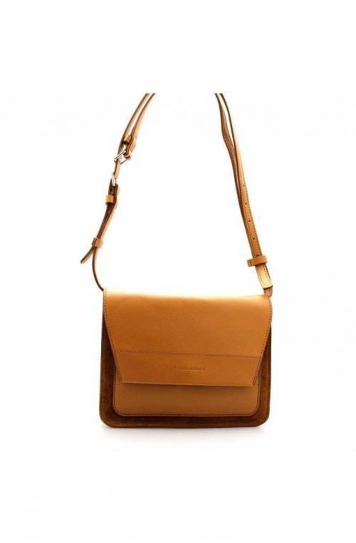 COCCINELLE Bolsa SANDY BIMATERIAL Mujer Cuero caramelo- E1EO7150101W03