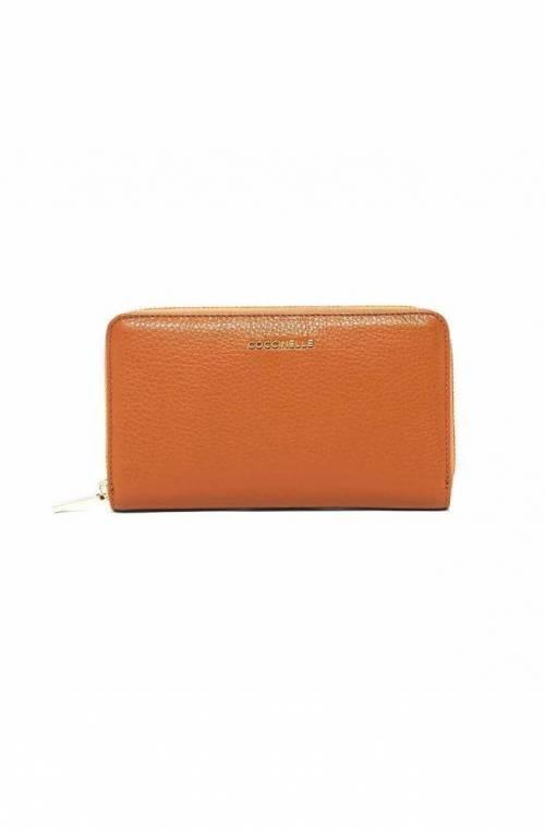 COCCINELLE Wallet METALLIC SOFT Female Leather Caramel - E2EW5113201W03