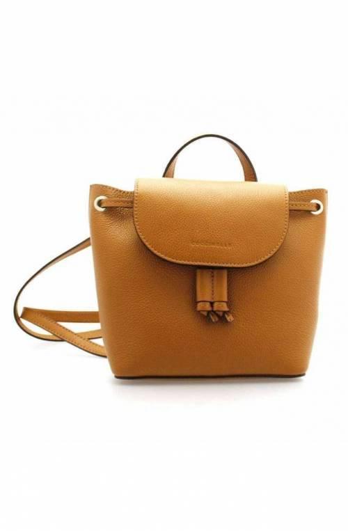 Zaino COCCINELLE MINI BAG Donna Pelle Caramello - E5EV3540107W03