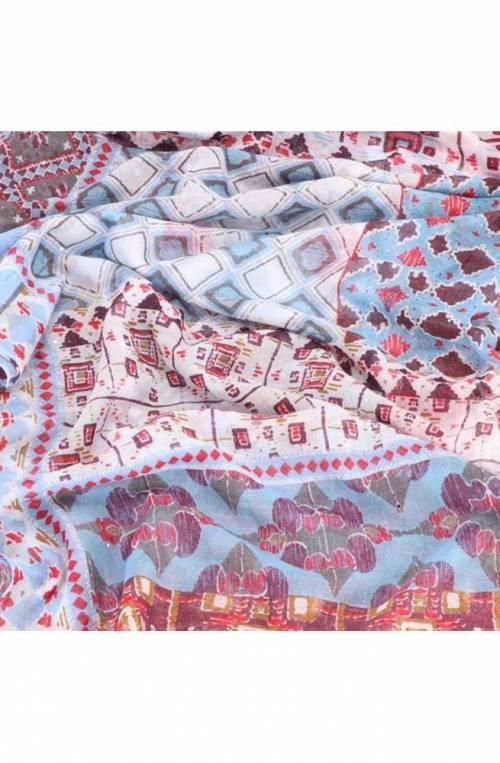 Foulard DESIGUAL Donna 120 X 120 Multicolore - 19SAWF59-1002-U