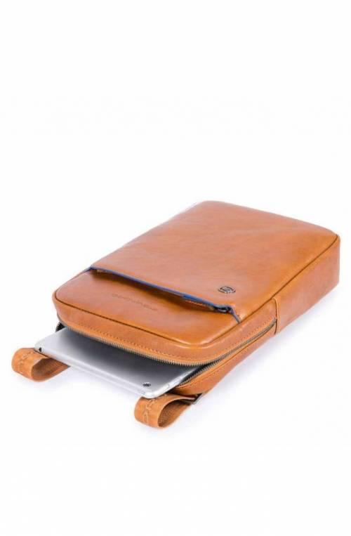 PIQUADRO Bag Blue Square Male Leather Brown - CA1816B2S-TM