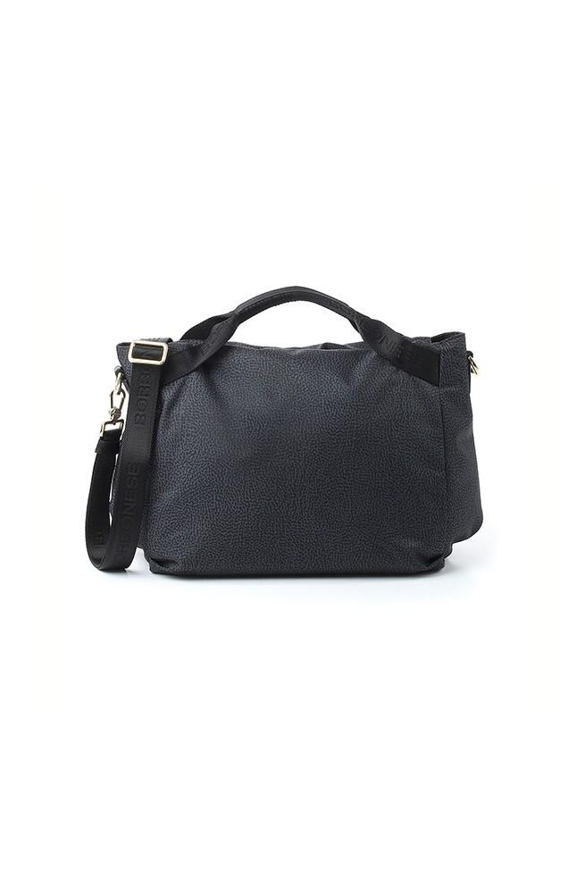 BORBONESE Bag Female BALCK- 934778-296-100