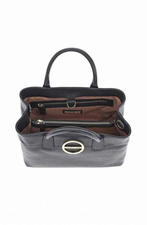 BORBONESE Bag BORBONISSIMA Female Leather Black - 913344-419-100
