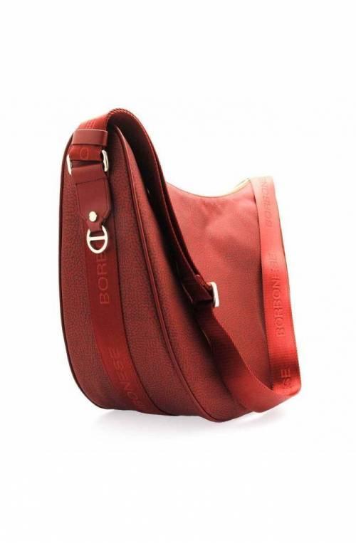 BORBONESE Bag Female Burgundy - 934412-296-T09
