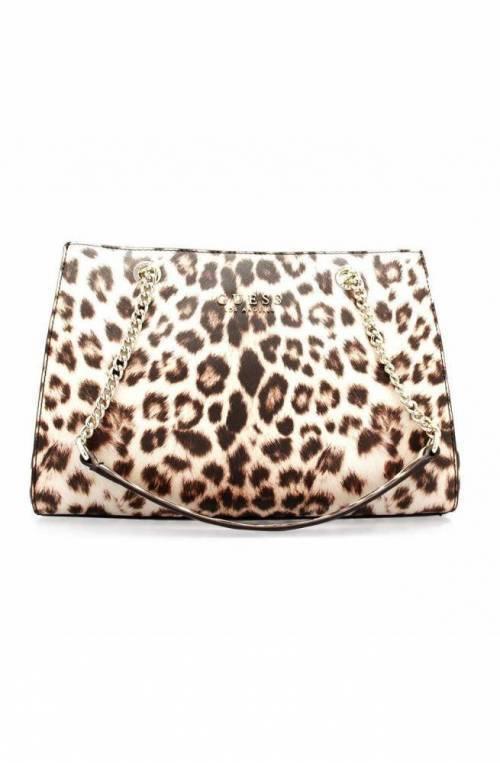 GUESS Bolsa ROBYN Mujer estampado leopardo - HWEL7180090LEO