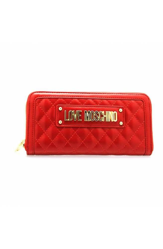 new products a9c74 8ba59 Portafoglio LOVE MOSCHINO Donna Rosso - JC5600PP18LA0500 - PoppinsBags