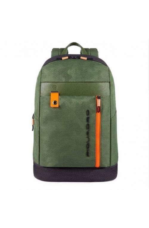 PIQUADRO Backpack Blaide Male Green - CA4545BL-VE