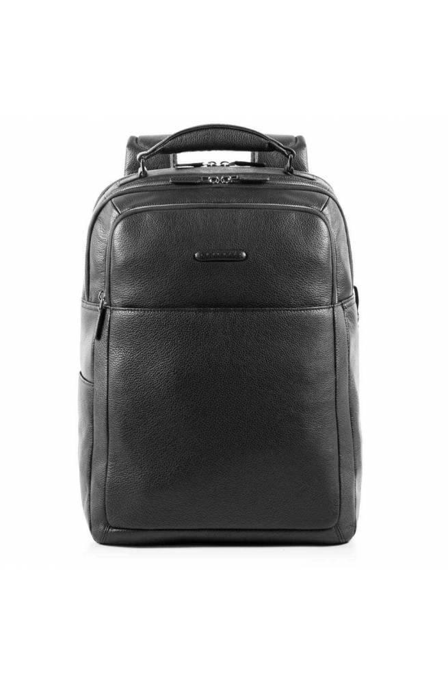 PIQUADRO Backpack Modus Male Leather Black - CA4174MO-N