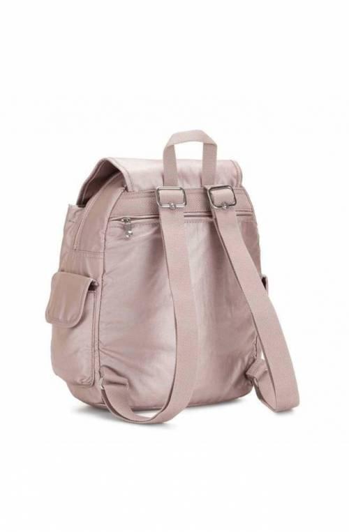 Kipling Backpack BASIC PLUS Female Metallic rose - K15641G45