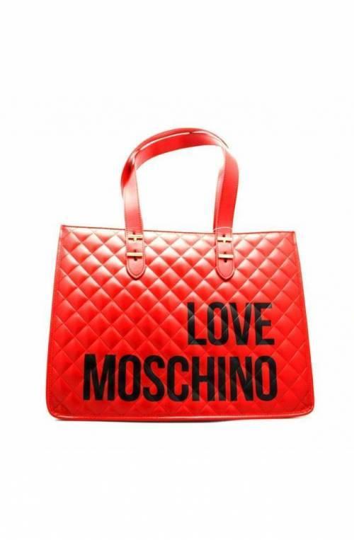 LOVE MOSCHINO Bolsa Mujer Rojo - JC4210PP08KB0500