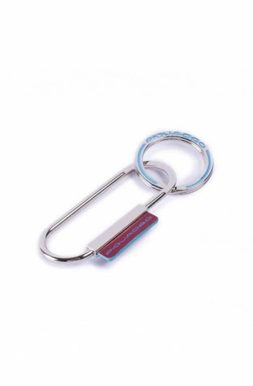 Portachiavi PIQUADRO Blue Square Rosso Acciaio - PC4565B2-R
