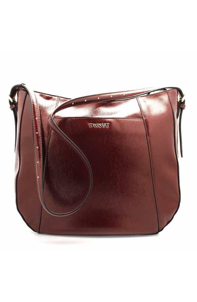 TWIN-SET Bolsa Mujer Bordeaux - 192TO8152-04224