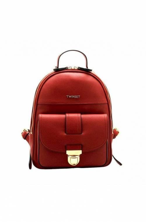TWIN-SET Backpack Female red - 192TA7133-00620