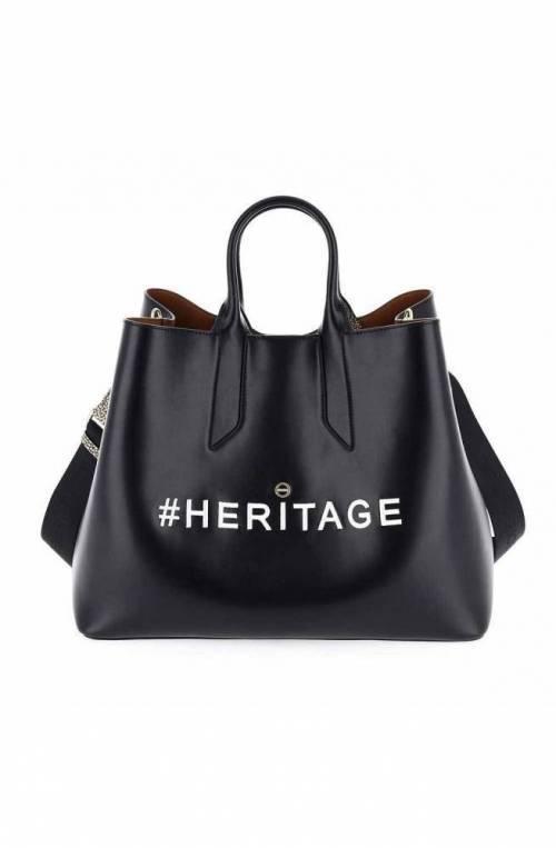 BORBONESE Bag Female Leather Black - 963827-H98-100