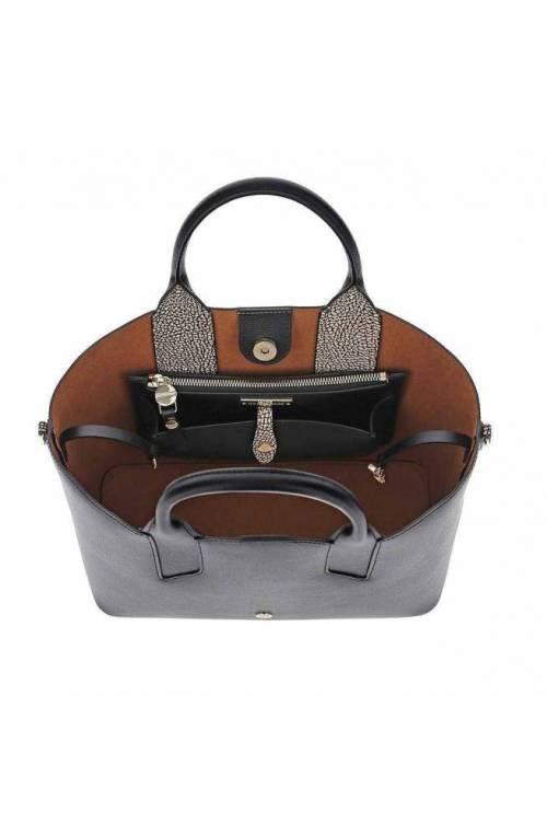 BORBONESE Bag Female Leather Black - 963831-H97-480