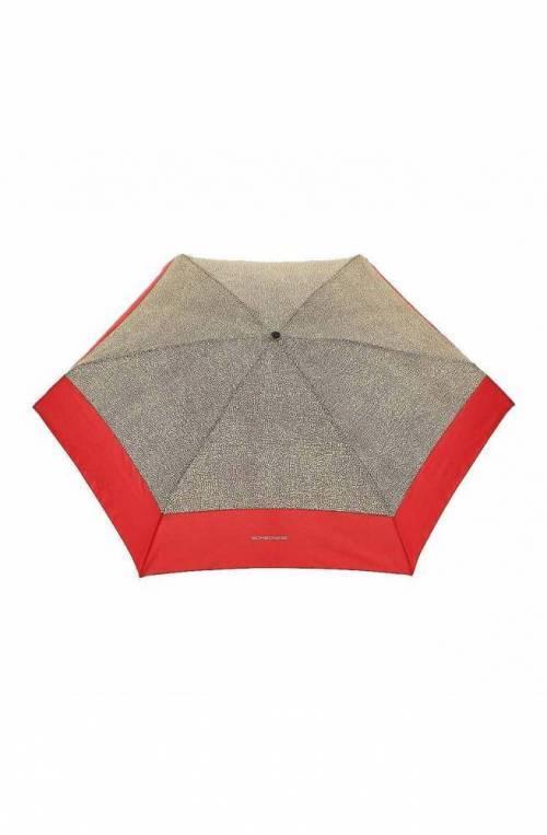 BORBONESE Umbrella Female Natural,bordeaux - 6DP802-M36-T46