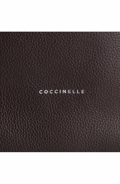 COCCINELLE Bolsa KEYLA Mujer Cuero Marrón oscuro - E1EI0130201W04