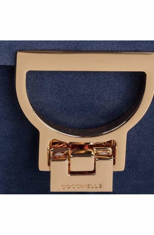 COCCINELLE Bag MIGNON SUEDE Female Suede Blue - E1E31550101B12