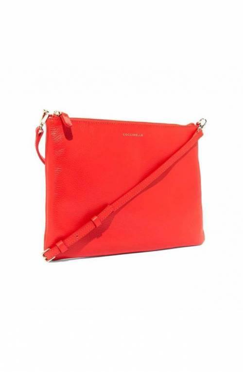 Borsa COCCINELLE MINI BAG Donna Pelle Rosso - E5EV355F407R08