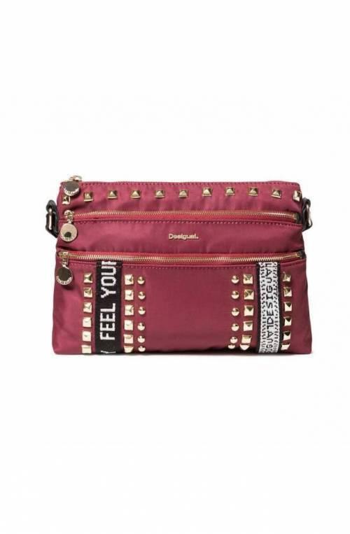 DESIGUAL Bag BRIGHT ROCK DURBAN Female Bordeaux - 19WAXA48-3099-U