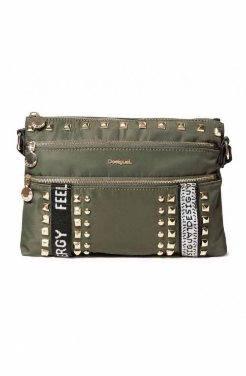 DESIGUAL Bag BRIGHT ROCK DURBAN Female Green - 19WAXA48-4154-U