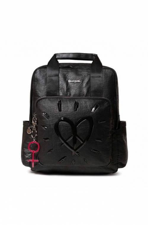 DESIGUAL Backpack LEGEND RANDERS Female Black - 19WAKP16-2000-U