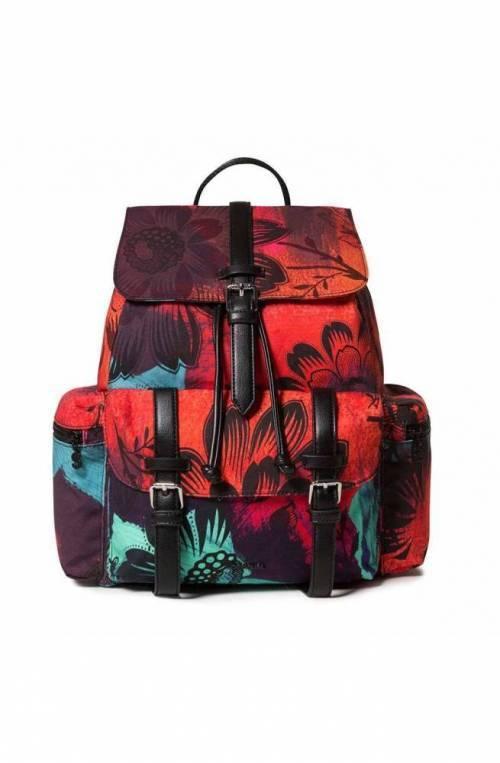 Zaino DESIGUAL SINERGIA_TRIBECA Donna Multicolore Rosso - 19WAKA16-3088-U