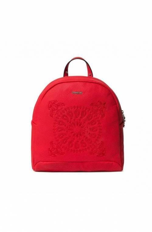 DESIGUAL Backpack SOFT BANDANA VENICE MINI Female red - 19WAKP28-3083-U